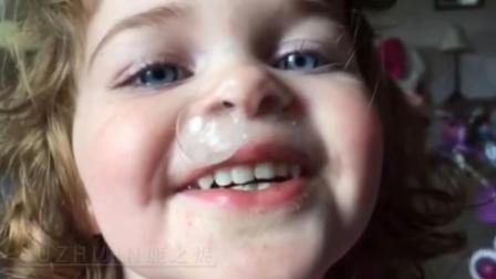鹿之烬搞笑视频丶萌娃的鼻涕口水大作战