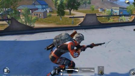 一把霰弹枪杀入决赛圈,正面和满配M4硬刚,服不服?