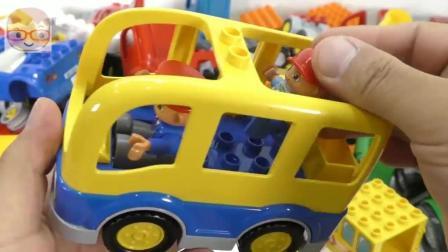 益智玩具: 汽车模型 DIY手工组装 交通工具 趣味儿童智力玩具 积木拼装玩具