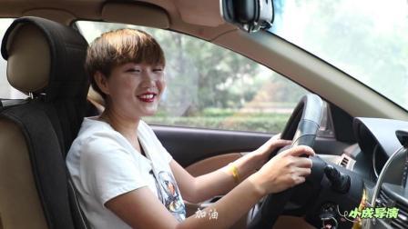 美女驾校学车, 教练让刹车, 美女还真用脚刹了, 全程爆笑不断