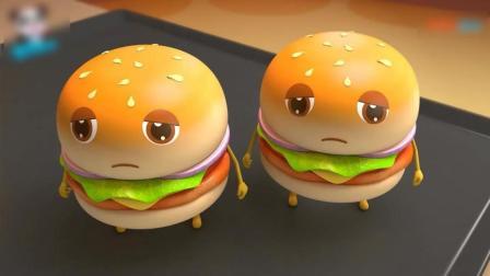 《宝宝巴士》这些汉堡好调皮
