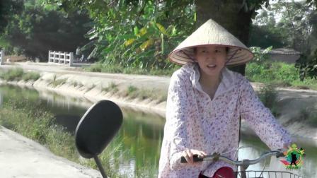 越南的普通农村, 像不像中国? 拍于越南河内20公里外的村庄