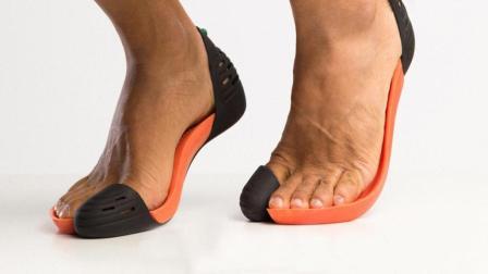 老外发明奇丑鞋灵感来自土著人