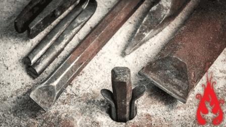 老外锻造了一套开石工具, 自认为很牛, 网友: 中国几千年前就有了