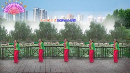 三友矿山广场舞【天家最美主·最爱你】基督教舞蹈简单32步