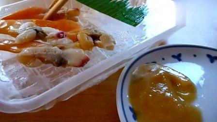 美食猎奇: 日本刺身便当登场, 这也太重口味了吧