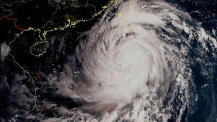 """超级台风""""山竹""""席卷菲吕宋岛 中国出动风云气象卫星协助"""