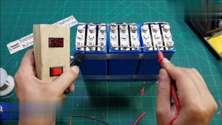牛人自制的30000mAh超级电池, 用作推进装置, 效果