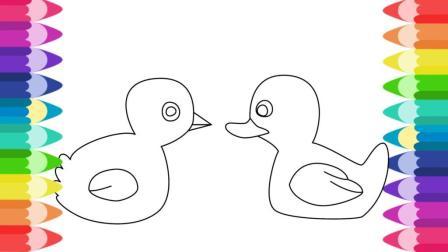 如何画小鸡和小鸭 从蛋里面孵出来的鸡和鸭