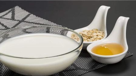 茶水蜂蜜牛奶自制面膜, 睡前敷脸, 肌肤白嫩