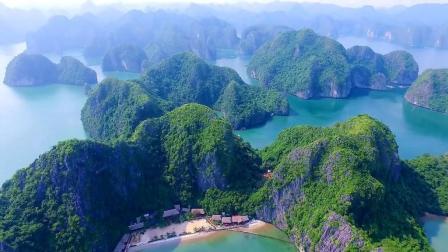 越南排名第一的景点, 景色很像中国的桂林山水, 航拍更漂亮