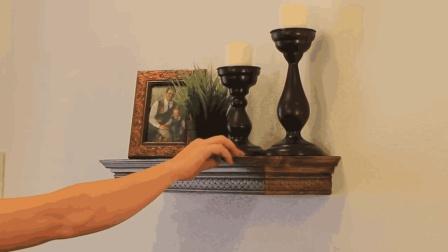 人家发明的创意置物架, 利用这个小机关, 藏住男人的小秘密