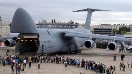 美军超级运输机, 能运载美国陆军现役所有武器, 外号超级银河