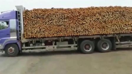 大货车为了让老板加薪, 使出了他的绝招, 老板彻