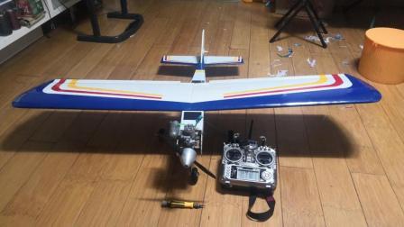 小金星25级上单翼教练机系列——机身组装