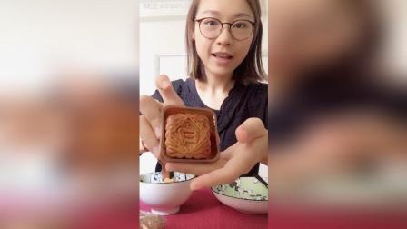 今天来吃月饼啦 今年的月饼季就从奇华的蛋黄白莲蓉月饼开始吧