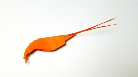 折纸王子折纸白灼虾, 小朋友很喜欢的手工