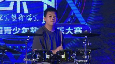 第三届罗兰艺术节大赛6强: 电鼓少年组二等奖 卢元