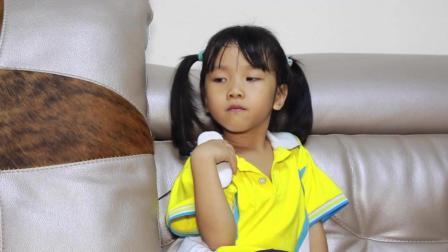 爆笑父女: 女儿电视看太多了, 导致乘法口诀背得一塌糊涂! 真是囧