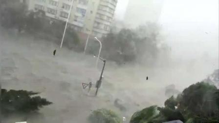 """见识下超强台风""""山竹""""的威力, 广东各地最全台风现场视频合集"""