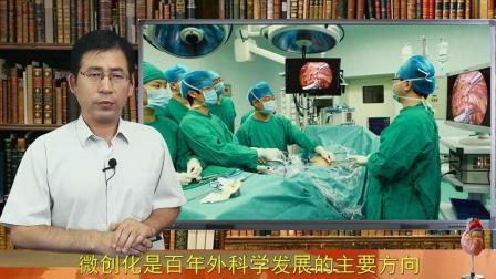 """胸腔镜技术将外科医生的眼睛和配备精巧器械的手""""放进""""病人的胸腔"""