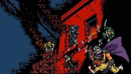 【小握解说】三代出招在二代里真好用《FC忍者神龟2: 复刻版》上篇