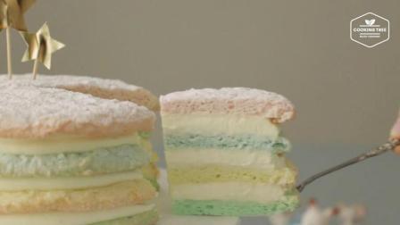超治愈美食教程: 达克瓦兹蛋糕 Dacquoise Cake
