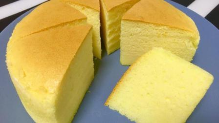 超嫩无油蛋糕的做法, 简单还好吃, 消耗淡奶油最佳方式
