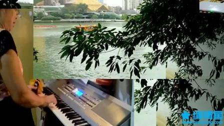 弹唱: (送别): 电子琴演奏