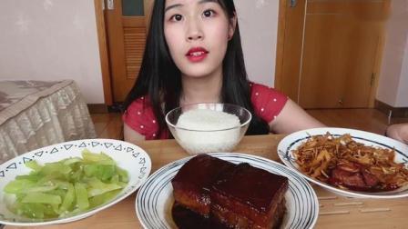 中国吃播, 吃家常便饭, 看着有家的味道