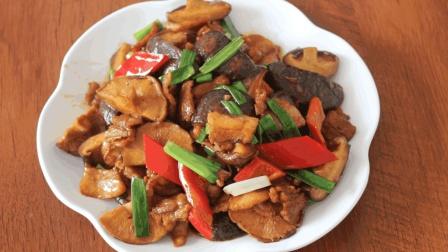 """大厨教你: """"香菇炒肉""""的家常做法, 味道鲜美, 营养美味, 超好吃"""