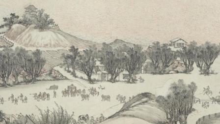古代字画-清明上河图.清沈源绘.70812X2016像素.台湾故宫博物院藏GMZM.org光明之门出品