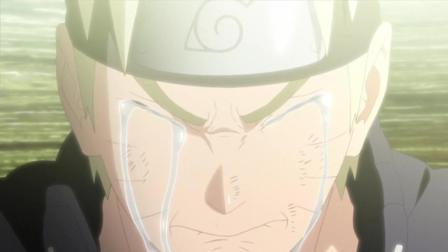 火影忍者: 六道仙人解除秽土转生之术, 鸣人含泪告别父亲