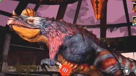 肉肉 侏罗纪世界恐龙游戏1218他很凶的!