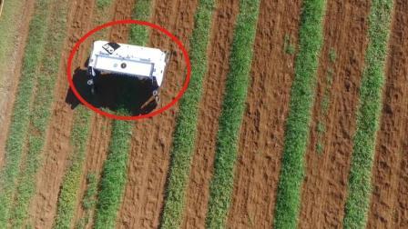 牛人发明神器除草机器人, 智能除草测肥力, 农民