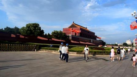 实拍北京的天安门, 被称为世界上最大的城市广场, 太雄伟了