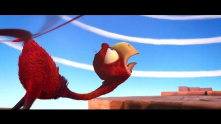 疯狂动物岛: 笨鸟尾巴变成螺旋桨, 总做这么危险的事情