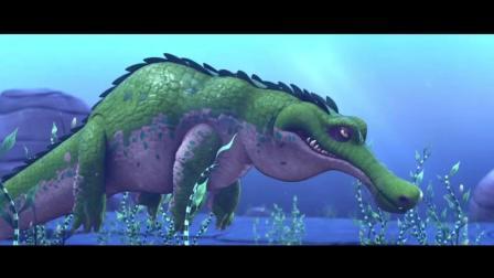 疯狂动物岛: 笨鸟乱吃果子, 反而逃过鳄鱼追杀, 运气太好了
