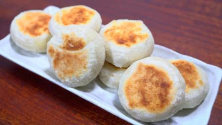 酥皮月饼, 试试这种新方法, 不用烤箱, 也能个个酥脆掉渣, 零失败