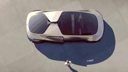 谷歌未来无人驾驶汽车首次曝光, 满满的黑科技, 会自动寻找停车场