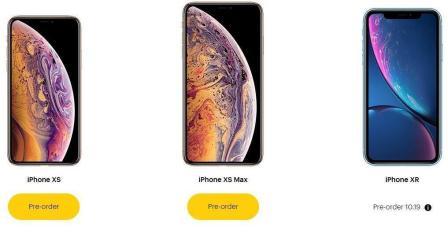未开卖先打折! iPhone XS大促销来袭: 买一送一!