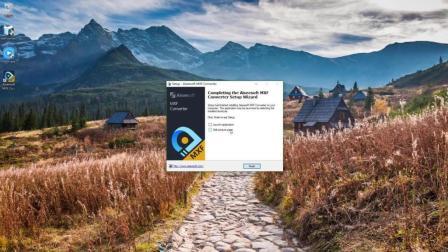 安装 Aiseesoft MXF Converter 视频转换软件