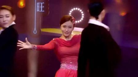 新舞林大会: 秦岚一袭红裙风情万种, 不愧是富察皇后
