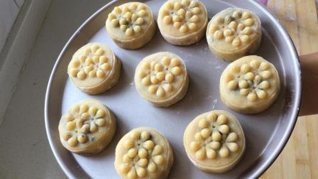 五仁月饼的传统做法, 无任何添加剂, 配方做法都告诉你, 一看就会