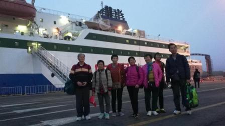 山东烟台--烟台港、大连港, 渤海轮渡