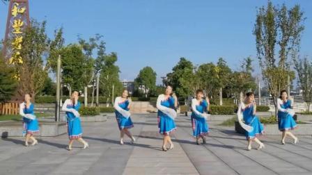 广场舞精选《吉祥》, 一首特别好听的藏族歌曲~舞蹈也很美