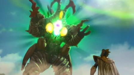 捷德奥特曼:这怪兽突然变成巨型怪兽,比奥特曼还大,真是可怕
