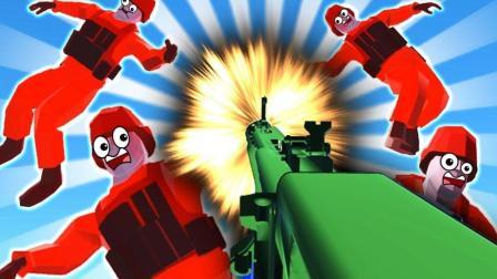 小飞象解说✘战地模拟器 生化研究秘密基地! 新武器太酷了吧!