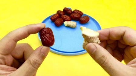 生姜配红枣一起吃, 想不到效果这么棒, 解决了不少人的难题