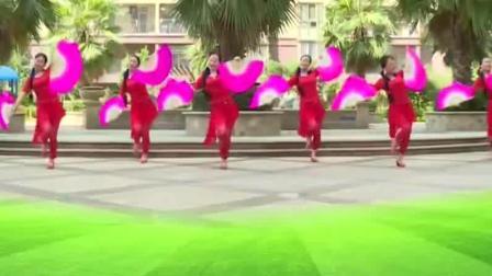 扇子舞 双扇扇子舞舞蹈视频